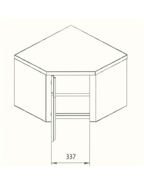 armadietti pensili armadietto pensile ad angolo dimensioni cm 80x80x60h