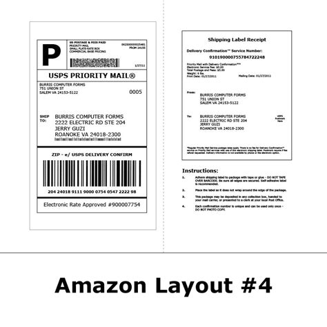 package mailing label template shipping labels for 174 streamline 174 order