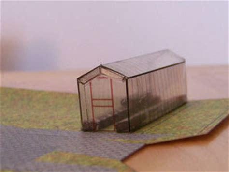 Hogwarts Papercraft - harry potter papercraft hogwarts greenhouse paperkraft