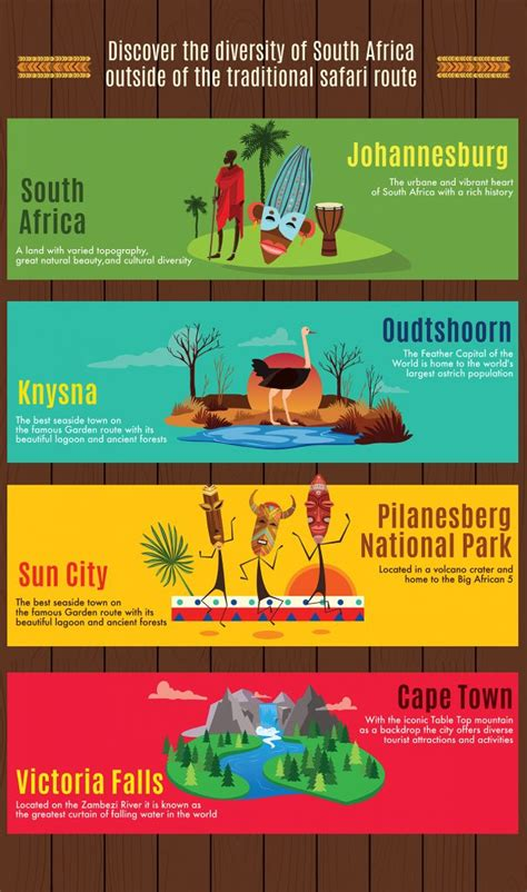 infographic discover  diversity  south africa