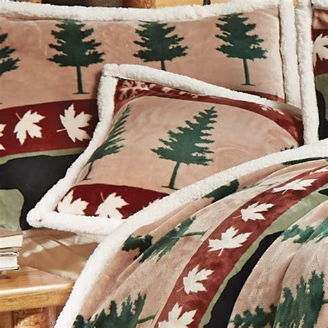Pine Tree Plush Accent Pillow