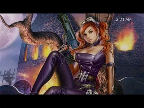 girl themes ps4 ps4 dynamic themes sexy vampire hunter sp 2 youtube