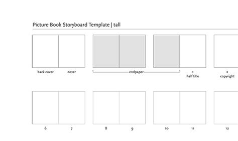 Picture Book Template Pdf Picture Book Layout Templates The Creative Home Of Scott E Franson