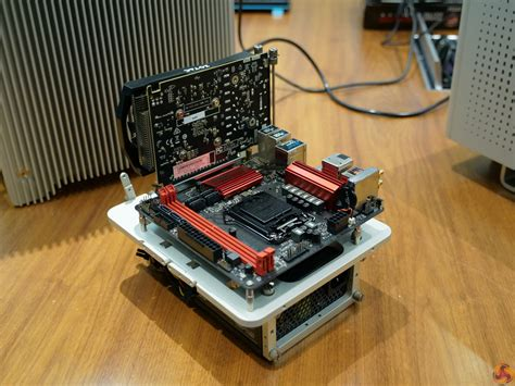 mini itx test bench mini itx test bench computex streacom shows off new hardware benches and