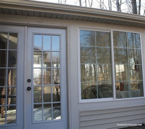 sunroom exterior door my sunroom is finally finished hooked on houses