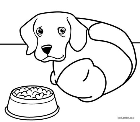 coloring pages of a dog printables printable dog coloring pages for kids cool2bkids