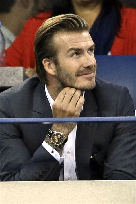 David Beckham Has by David Beckham Attends The Us Open And He Didn T Even