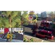 Paul Walker Dies Car Crash  Porsche On Fire Caught Camera