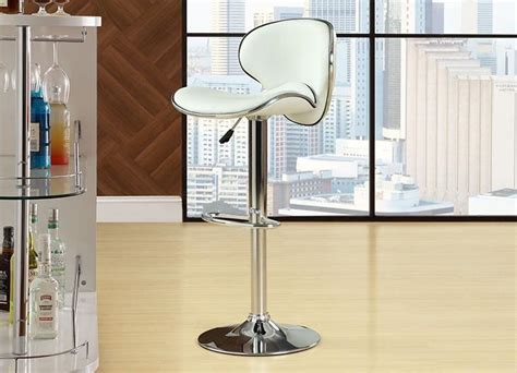 Leather Saddleback Bar Stools by Bar Stool Modern Saddleback Leather Adjustable Footrest