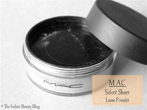 Mac Translucent Powder m a c select sheer powder nc45 review swatches