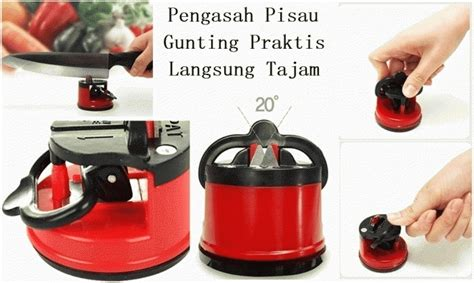 Jual Pisau Dapur Unik jual asahan pisau with suction pad knife sharpener kleva