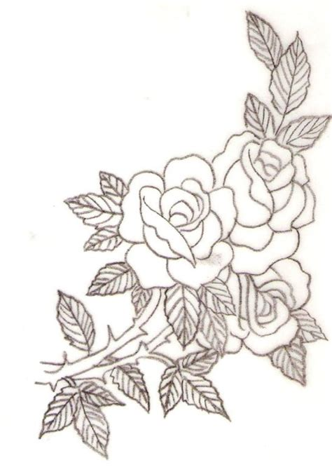 vintage rose tattoo designs vintage design