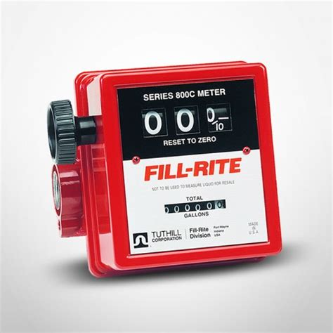 Flow Meter Fill Rite 1 5 Inch 4 Digit service station equipment gas station supplies nozzles