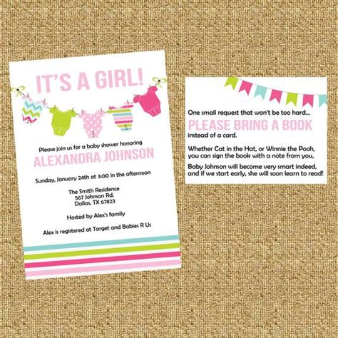 29 best images about pink 29 best images about baby shower book instead of card on