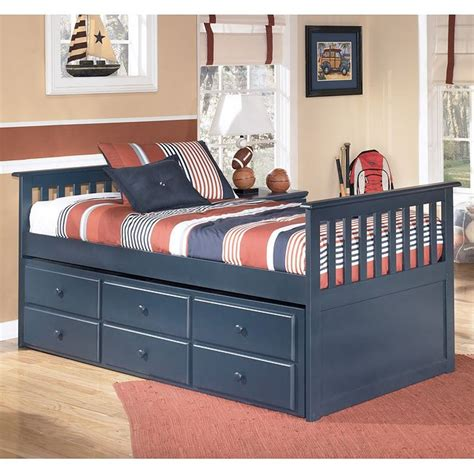 trundle bedroom sets trundle bed frame bed signature leo trundle storage bed twin signature design by ashley