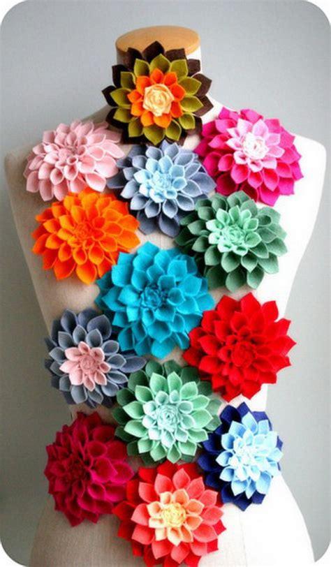 Felt Paper Crafts Ideas - mothers day ideas felt craft