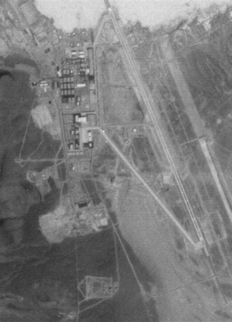 High resolution satellite photo of the Groom Lake base
