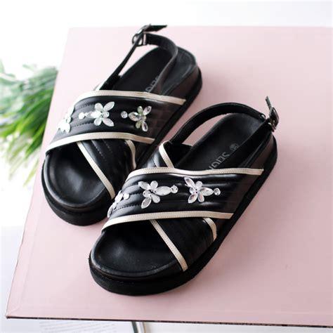 Sandal 12 Size 40 sandal dominique hitam slightshop