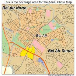 where is bel air md aerial photography map of bel air md maryland