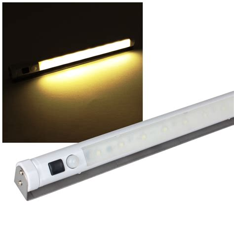 wireless cabinet lighting wireless led cabinet light motion sensor warm white battery ebay