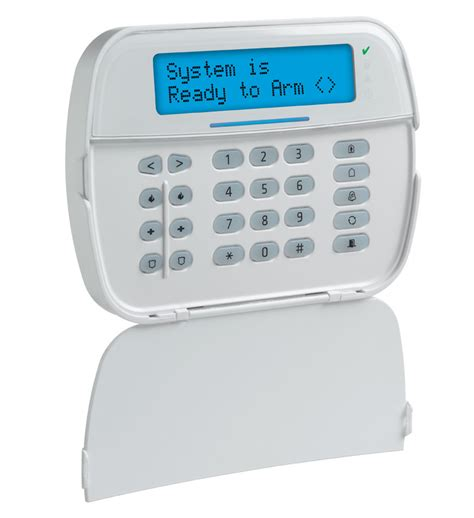prox support lcd hardwired keypad dsc home security