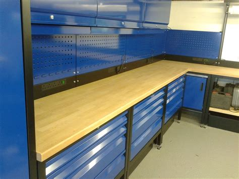 workshop benches paf systems custom fitted garage workshop benches