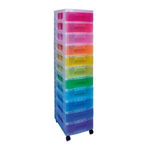 tour tiroirs plastique tour mobile reallysusefulboxes