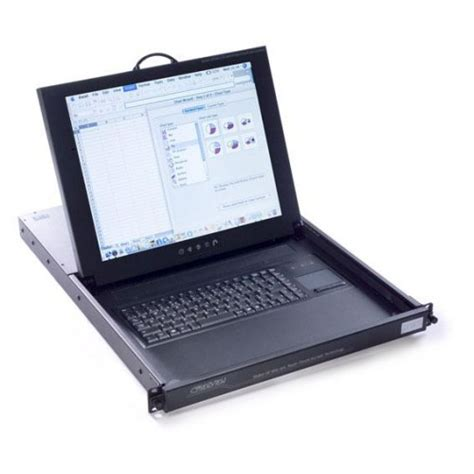 1u Keyboard Drawer by 1u Enclosed Lcd Keyboard Drawer From 163 675 00