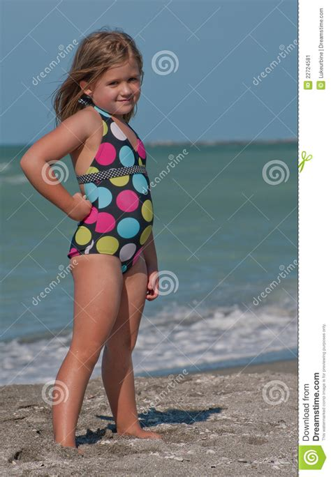 little girl models beach young model on the beach stock image image 22724581