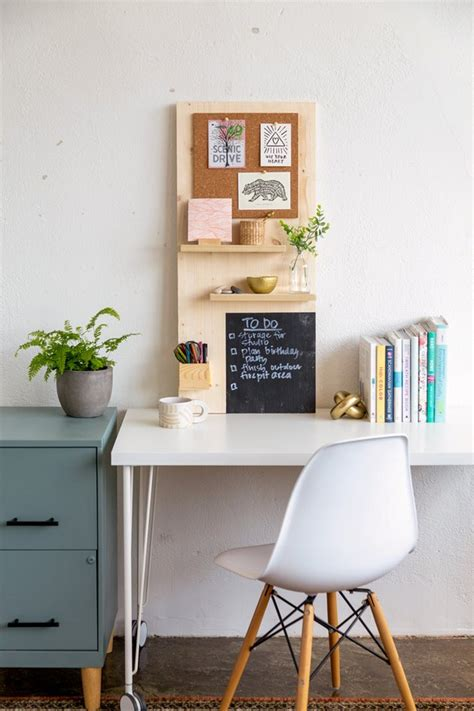 diy modern wall organizer tutorial hunker