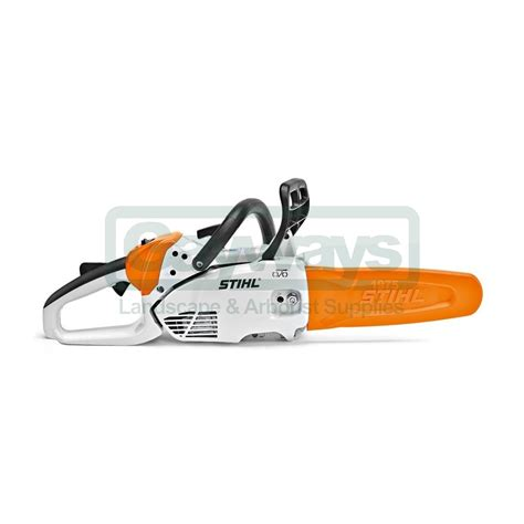 stuhl petrol stihl stihl petrol chainsaw ms 150 c e stihl from gayways uk