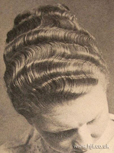 wave pattern definition hair 55 best 1920s hair and make up images on pinterest