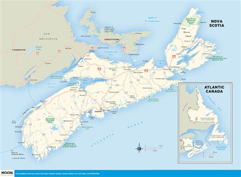 road map of eastern canada 00 01 novascotia and road map of eastern canada world maps