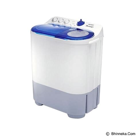 Mesin Cuci Sharp Aqua Matic jual sharp mesin cuci tub est 77da bk merchant