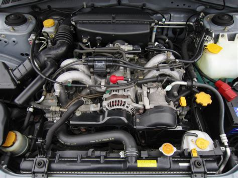 how do cars engines work 2003 subaru outback seat position control file 2004 subaru impreza sport wagon ej15 engine jpg wikimedia commons