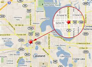 lakeland florida maps lakeland crashes suv into tractor trailer dies at