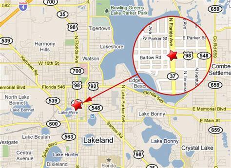 lakeland florida map lakeland crashes suv into tractor trailer dies at