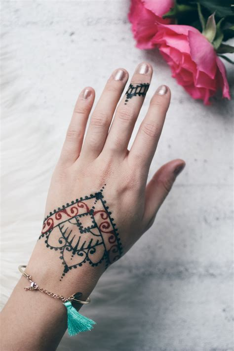 diy henna tattoo selber machen loveandfashion