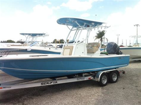 sea fox boats clermont fl 2017 sea fox 240 viper 24 foot 2017 fishing boat in
