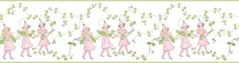 cenefas de papel infantiles tienda online telas papel cenefa infantil hadas rosas