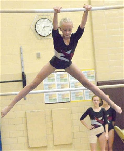 kip swings gymnasts ninth at new prague invite think stewartville