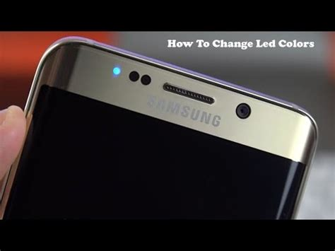 galaxy s8 notification light colors how to change led notification colors on android