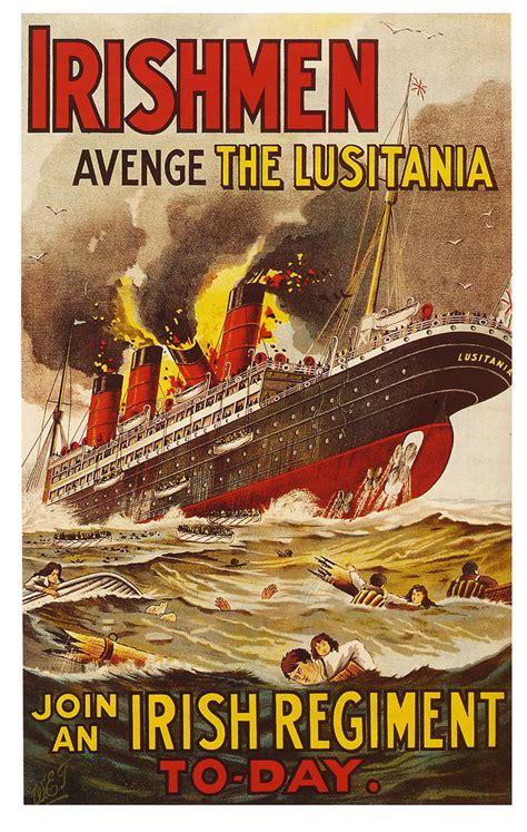 why did german u boats sank the lusitania world war 1