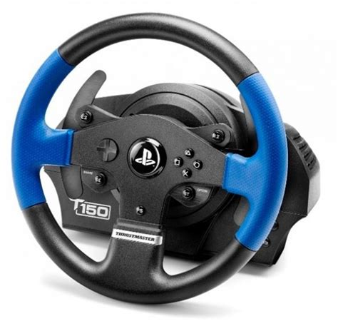 volante thrustmaster ps4 volant thrustmaster t150 pro ps4 ps3 pc ped 225 ly čern 253