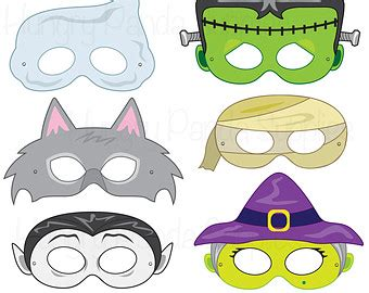 printable halloween masks halloween masks printable halloween costume por