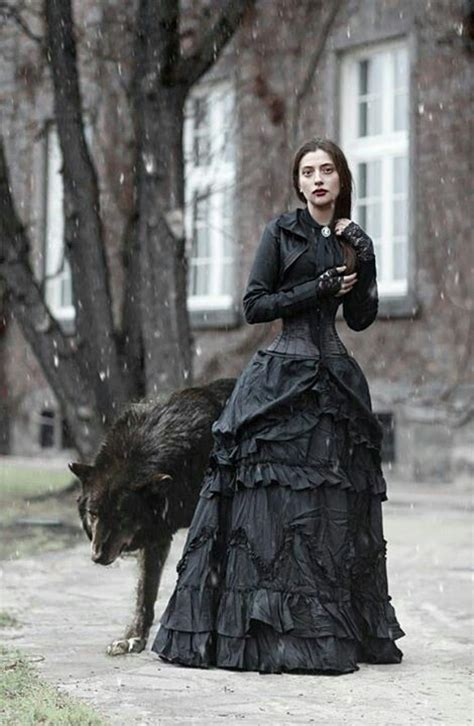 victorian gothic fashion in iskadar modeled by a refugee neo victorian