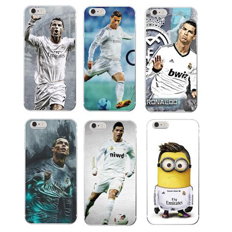 Espana Match 1 Iphone Iphone 6 7 5s Oppo F1s Redmi S6 Vivo madrid cristiano ronaldo cr7 phone for iphone 7plus 7