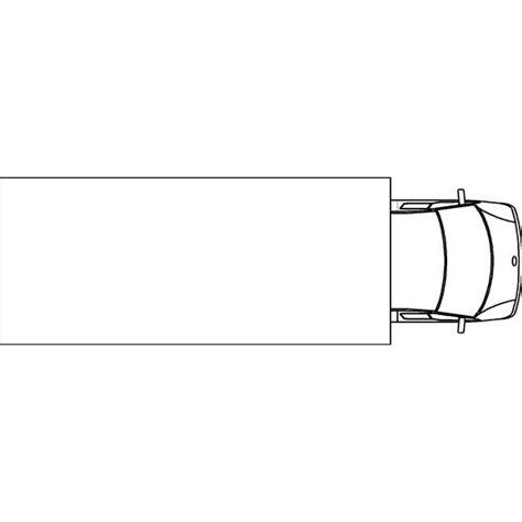 Vans 2d 7 5t luton 2d plan custom3d