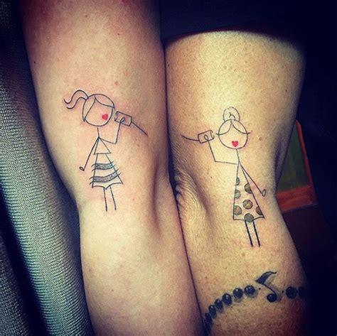 50 tatouages qui lient 224 jamais ces mamans 224 leur fille