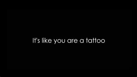 Tattoo Lyrics Calmani | calmani grey ft pearl andersson tattoo lyrics hq